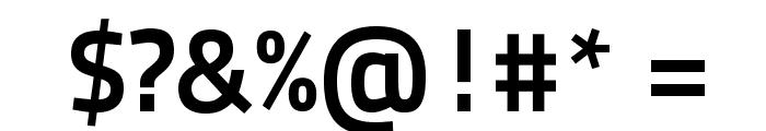 TitilliumText25L-800wt Font OTHER CHARS