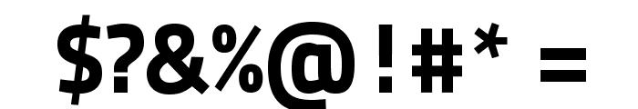 TitilliumText25L-999wt Font OTHER CHARS