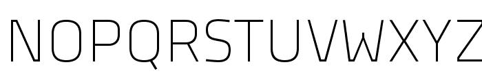 TitilliumTitle20 Font UPPERCASE