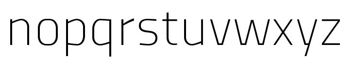 TitilliumTitle20 Font LOWERCASE