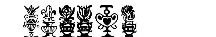 Titling-Ornaments-1 Font UPPERCASE