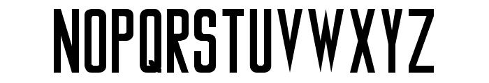Tiverton Font UPPERCASE