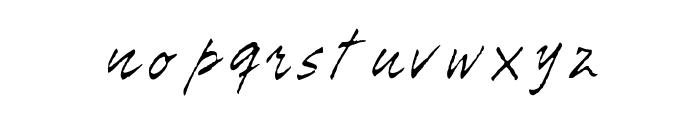 Tiza Script Medium Font LOWERCASE