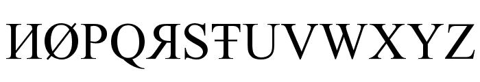 tiboo5font Font UPPERCASE