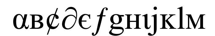 tiboo5font Font LOWERCASE