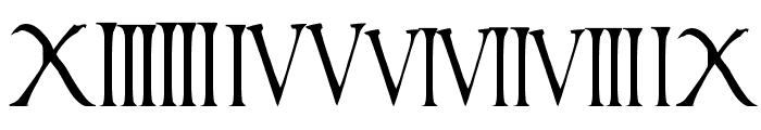 times new vespasian Font OTHER CHARS