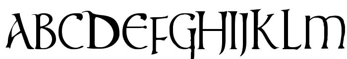 times new vespasian Font UPPERCASE