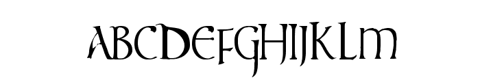 times new vespasian Font LOWERCASE