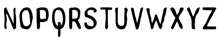 tintilla Font UPPERCASE
