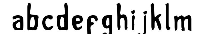tintilla Font LOWERCASE