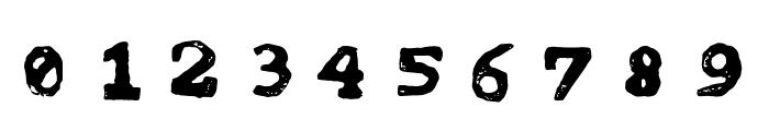 tipo carimbado Font OTHER CHARS