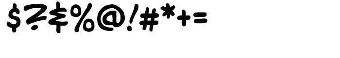 Tim Sale Intl Regular Font OTHER CHARS