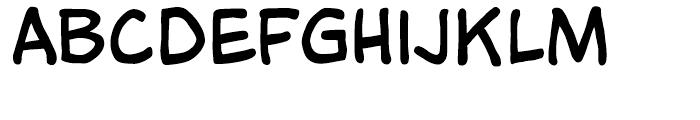 Tim Sale Intl Regular Font LOWERCASE