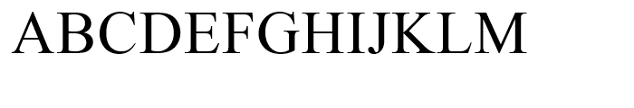 Times New Roman CE Package Font UPPERCASE