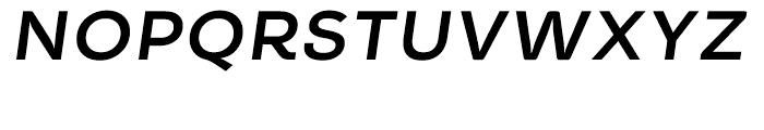 Timesquare Bold Italic Font UPPERCASE