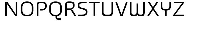 Titanium Regular Font UPPERCASE