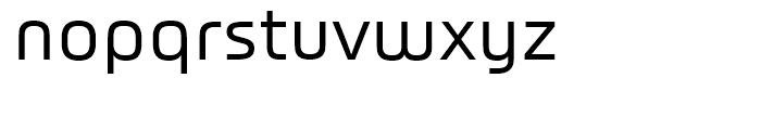 Titanium Regular Font LOWERCASE