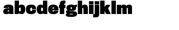 Titling Gothic FB Condensed Black Font LOWERCASE