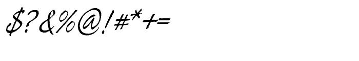 Tiza Regular Font OTHER CHARS
