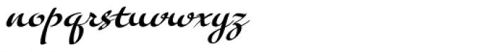 Tiamaria Font LOWERCASE