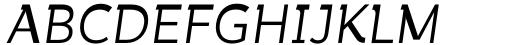 Tibet Museum Regular Italic Font UPPERCASE