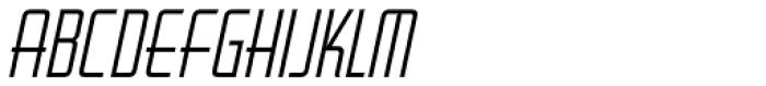 Ticket Booth Oblique JNL Font LOWERCASE