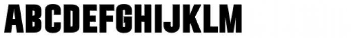 Ticketbook Black Font UPPERCASE