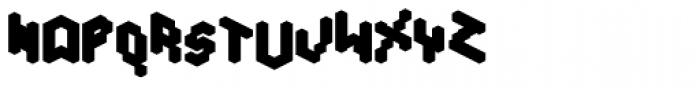 Tictac Back Font UPPERCASE