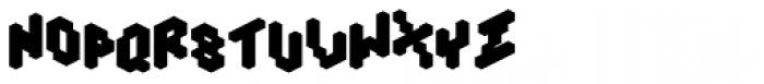 Tictac Back Font LOWERCASE
