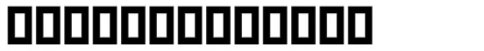 Tidbits Font LOWERCASE