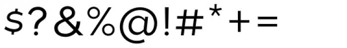 Tide Sans 300 Lil Kahuna Font OTHER CHARS