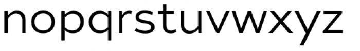 Tide Sans 300 Lil Kahuna Font LOWERCASE