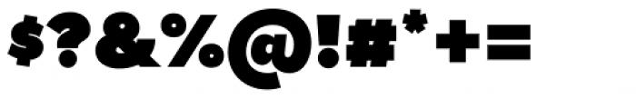 Tide Sans 900 Dude Font OTHER CHARS