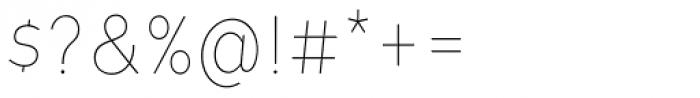 Tide Sans Condensed 100 Lil Bunny Font OTHER CHARS