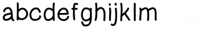 Tidy Hand Regular Font LOWERCASE