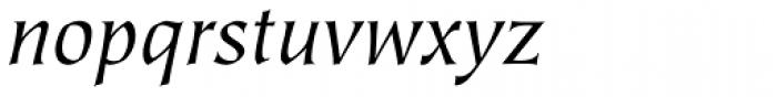 Tiepolo Std Book Italic Font LOWERCASE