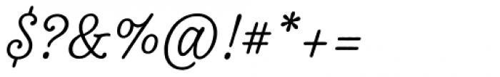 Tierra Script Font OTHER CHARS