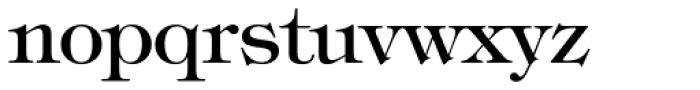 Tiffany Medium Font LOWERCASE