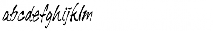 Tiger Rag Font LOWERCASE