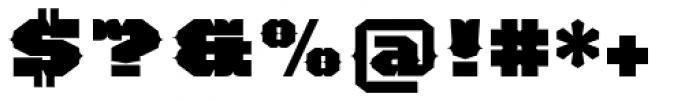 TigerCat BX 200 Black Font OTHER CHARS