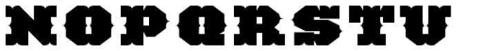 TigerCat BX 200 Black Font UPPERCASE