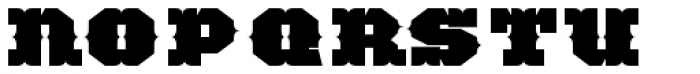 TigerCat BX 200 Black Font LOWERCASE