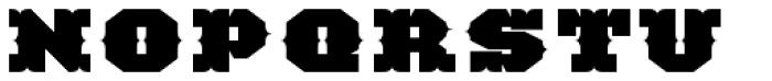 TigerCat CX 200 Black Font UPPERCASE