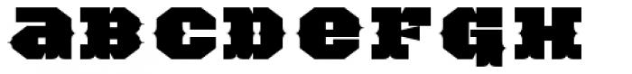 TigerCat DX 200 Black Font LOWERCASE