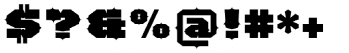 TigerCat IX 100 Black Font OTHER CHARS