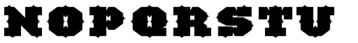 TigerCat IX 100 Black Font UPPERCASE