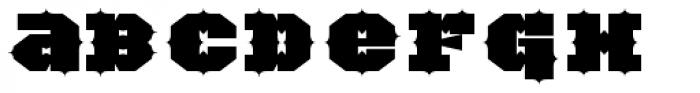 TigerCat IX 100 Black Font LOWERCASE