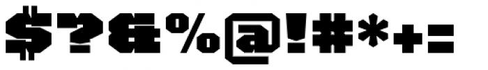 TigerCat JX 200 Black Font OTHER CHARS