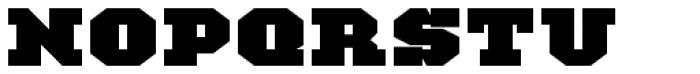 TigerCat JX 200 Black Font UPPERCASE