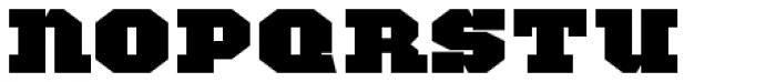 TigerCat JX 200 Black Font LOWERCASE